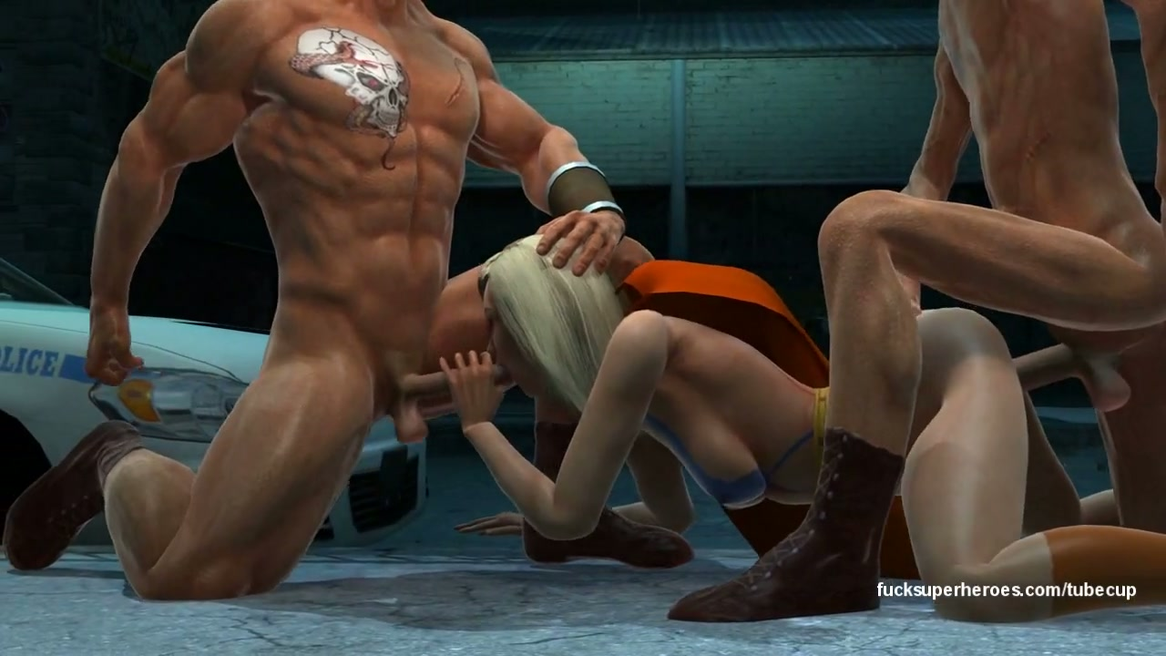 3d cartoon hunk gets his asshole licked and fucked in a sewer 10