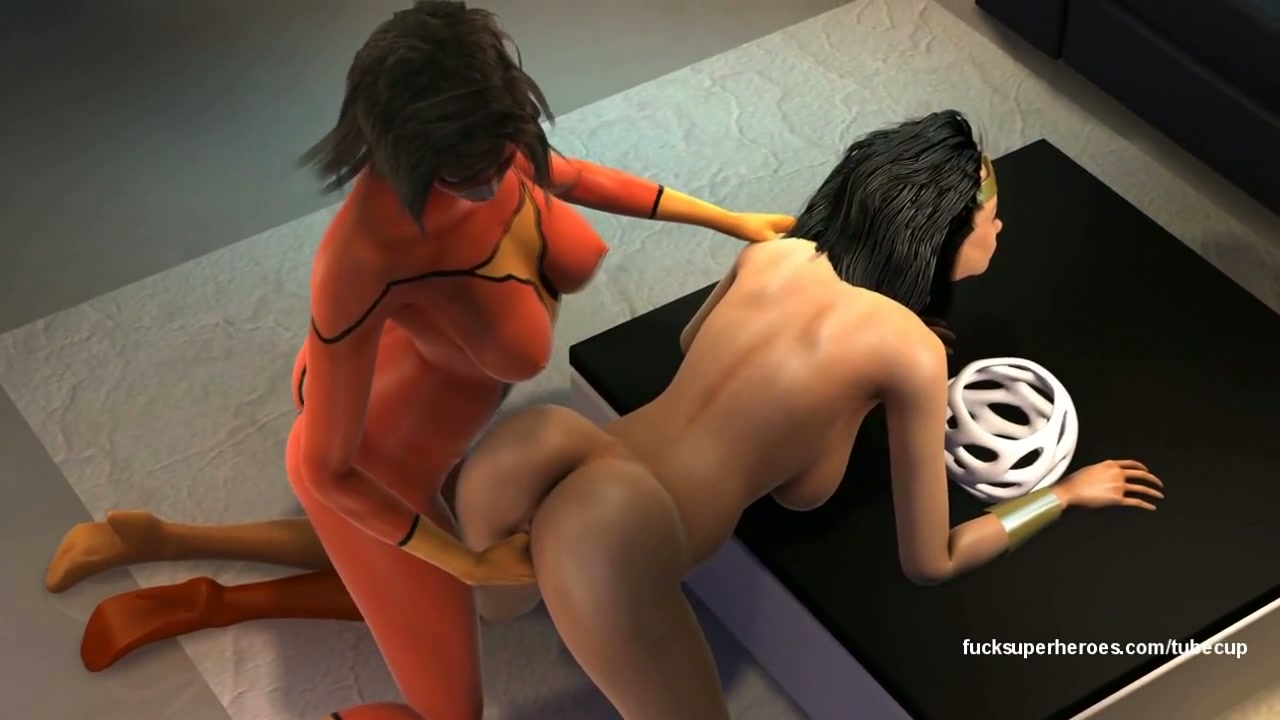 naked hot sexy female superheroes fucking