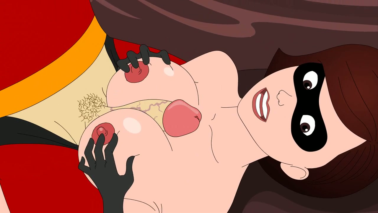 helen parr swallows dick and gets anal fucking - incredibles cartoon