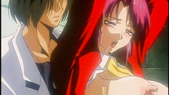 Bondaged hentai babes getting pleasure from the pain
