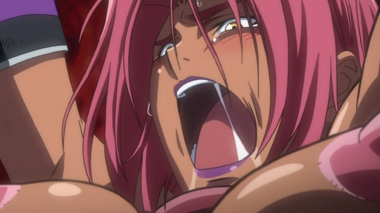 image Redhead hentai gets monster tentacles drilled
