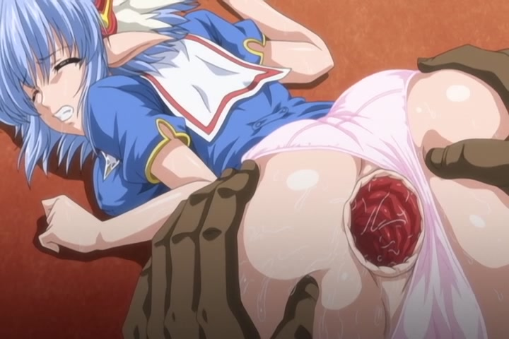 Lovely elf babe with git tis shows her gape in hentai porn toon