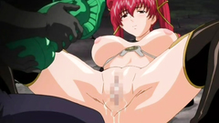 Big breasted redhead cutie gets fucked in fetish hentai toon