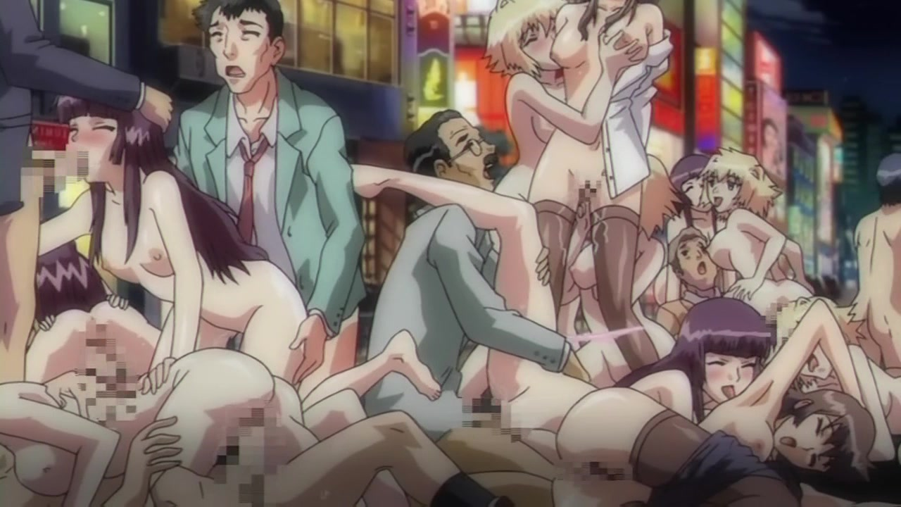 Hot chicks best orgy hentei