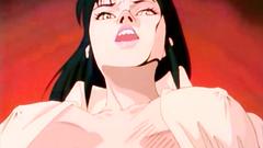 Black-haire woman in hentai xxx cartoon video clip