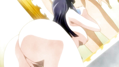 Hot babes with awesome butts fuck in hentai cartoon