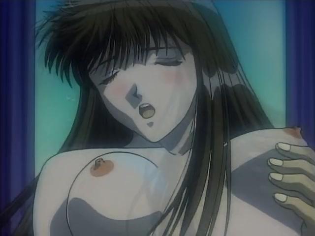 Sexy gray hair hentai