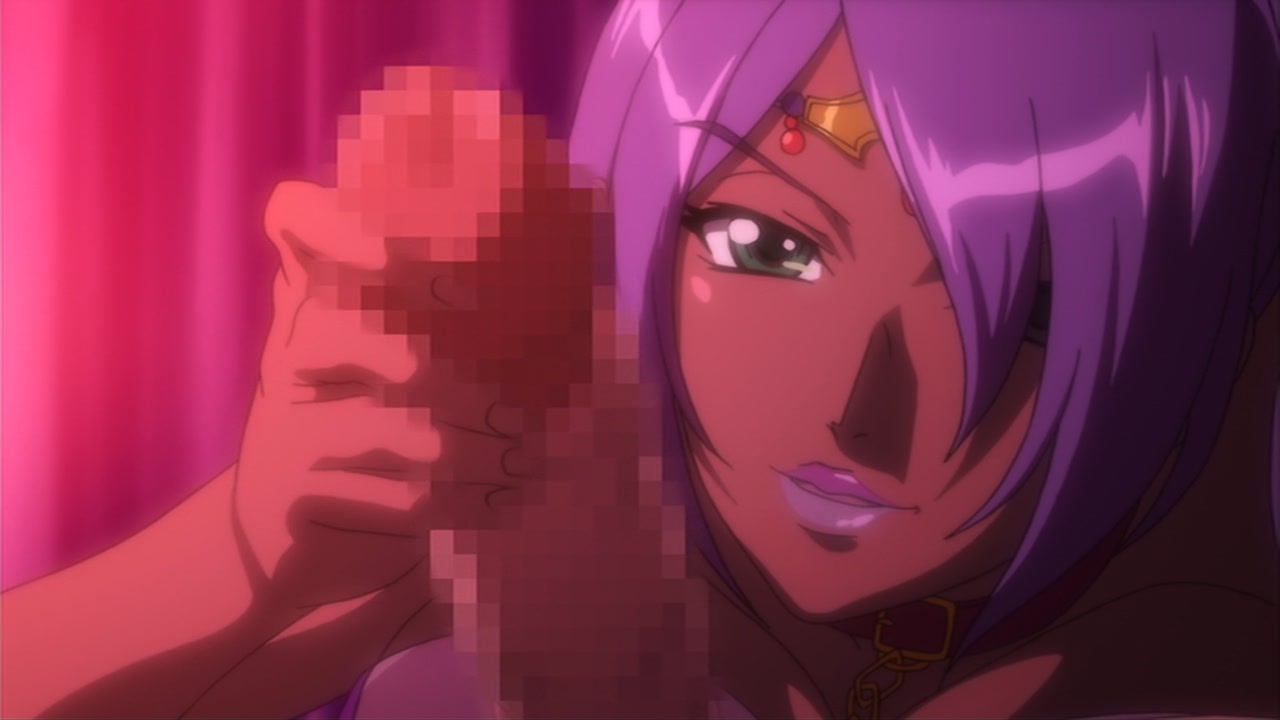 seductive anime look
