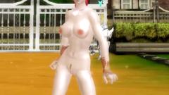 Aion 3d sexy slut redhead dance