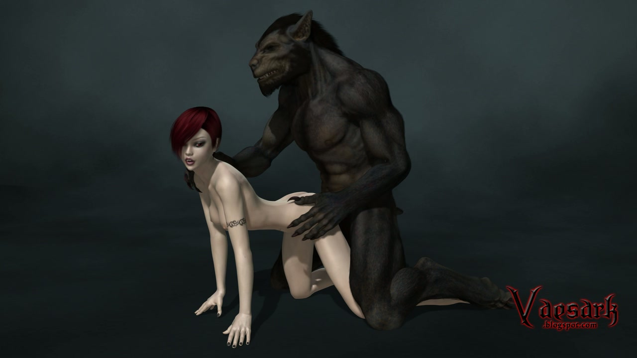 Guy having sex with werewolf photo 930