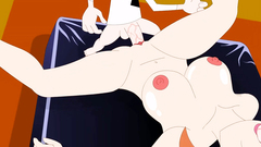 Incest cartoon with slutty redheaded lady fucking with a young boy