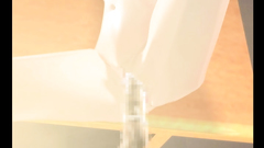 Hottie poked hard in the library - enjoy hot 3d hentai