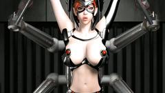 Horny BDSM play with a slutty redhead who enjoys hardcore sex
