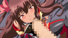 Slender hentai cutie ruined by massive cock