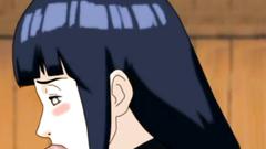 Beautiful and shy Hinata make deep blowjob for Naruto