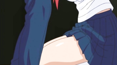 Seductive schoolgirl feels so horny and can't resist to this feel