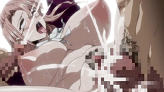 Lovely hentai girls gets filled with gallons of cum