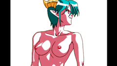 Hardcore elvish orgy fuck in hentai porn toon
