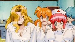 Lovely hentai nurses in classy erotic sex toon