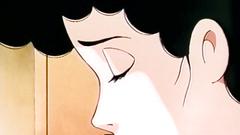 Busty brunette MILF feels very horny in this sex cartoon