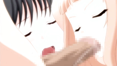 Young babes in passionate and hardcore hentai banging