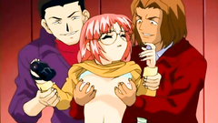 Young and beautiful hentai ladies getting seduced for a bang