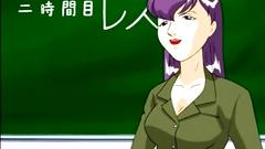 Masturbation lessona for a young sexy schoolgirl