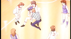 This schoolgirls play basketball and feel horny