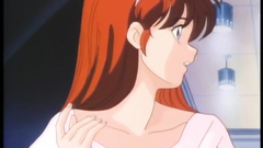 She looks sad in this anime - maybe she needs a cock