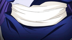 Big breasted anime slut rides cock till creampie