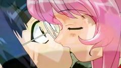 Anime teens in hentai cartoon compilation