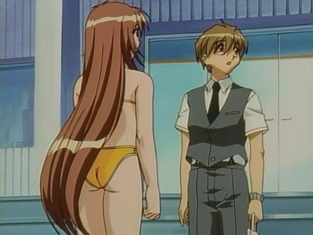 Hentai swimsuit anime bikini