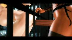 Prison shemale fuck in xxx 3d futanari toon
