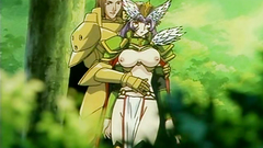 Naked beautiful anime babe with perfect tits in bdsm