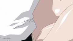 Young and submissive anime maids in hentai cartoon