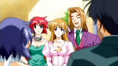 Nice anime cartoon with handsome studs and sexy babes