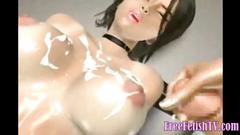 3D Tight Japanese Nurses Creampied