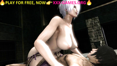 Big tits hentai riding cock in best porn game!