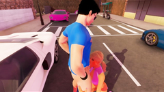 3D Futanari Street Whore!